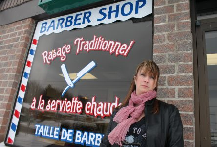 Local barber shop has a brush with the OQLF: language watchdog banged up about English signage