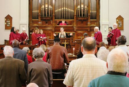 Plymouth-Trinity hosts United Church leader
