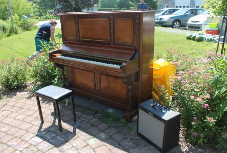 Waterville piano bringing music out into the open