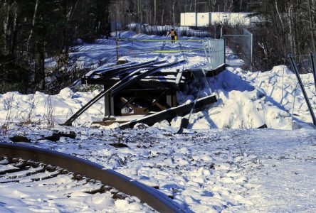 """Things are going well,"" following  train bridge washout"
