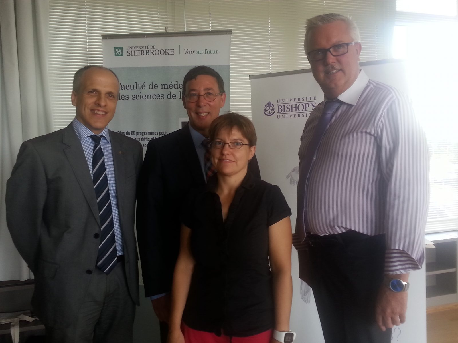 Sherbrooke universities sign research partnership