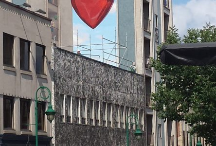 New downtown mural bringing the #sherbylove