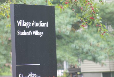 New Student Village sign raises questions
