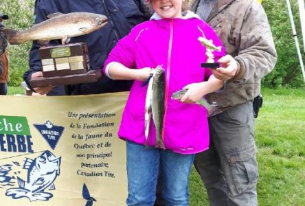 Weathering the weather at Brome-Bolton Fishing Derby