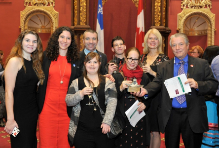 Pleins rayons/Freewheeling recognized as most  inclusive non-profit in Quebec