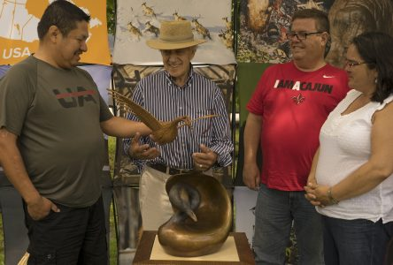 Cree crafts a hit at Georgeville's Canada Day celebration