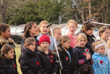 Remembrance Day at Knowlton Academy