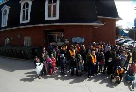 Annual community cleanup day in Lennoxville