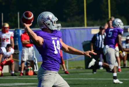Gaiters fall 44-2 to #2 Laval