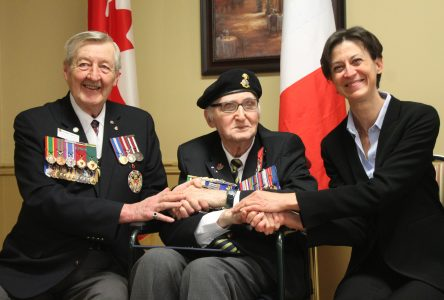 Sherbrooke's last living Normandy campaign survivor honoured