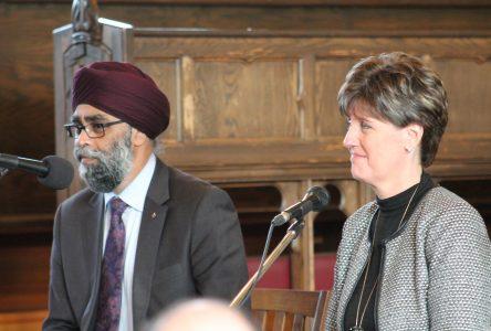 Sajjan highlights diversity  as a defence asset