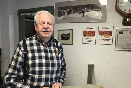 Korman passes on the torch at Owl's Head