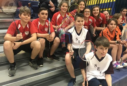 100 students swinging for the win at annual ETSB badminton tournament