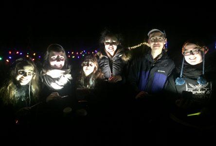 Champlain students 'light the path'