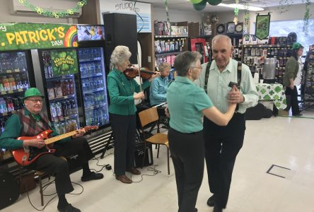 Lennoxville Jean-Coutu spreading the luck of the Irish