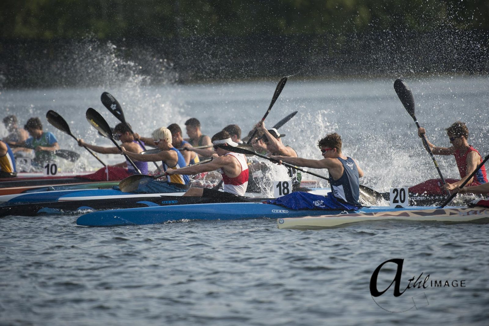 Canadian Sprint Canoe-Kayak Championships continues  throughout the weekend