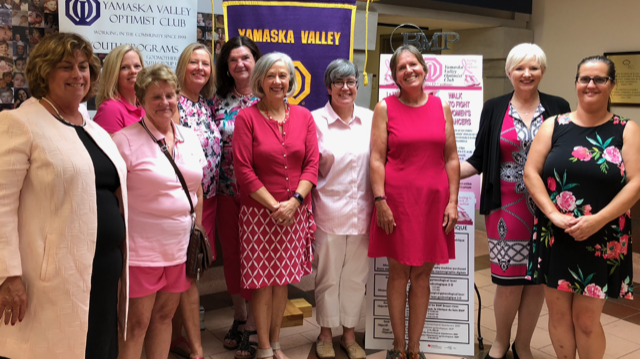 Optimists' Club preparing for 17th annual Walk for Women's Cancer