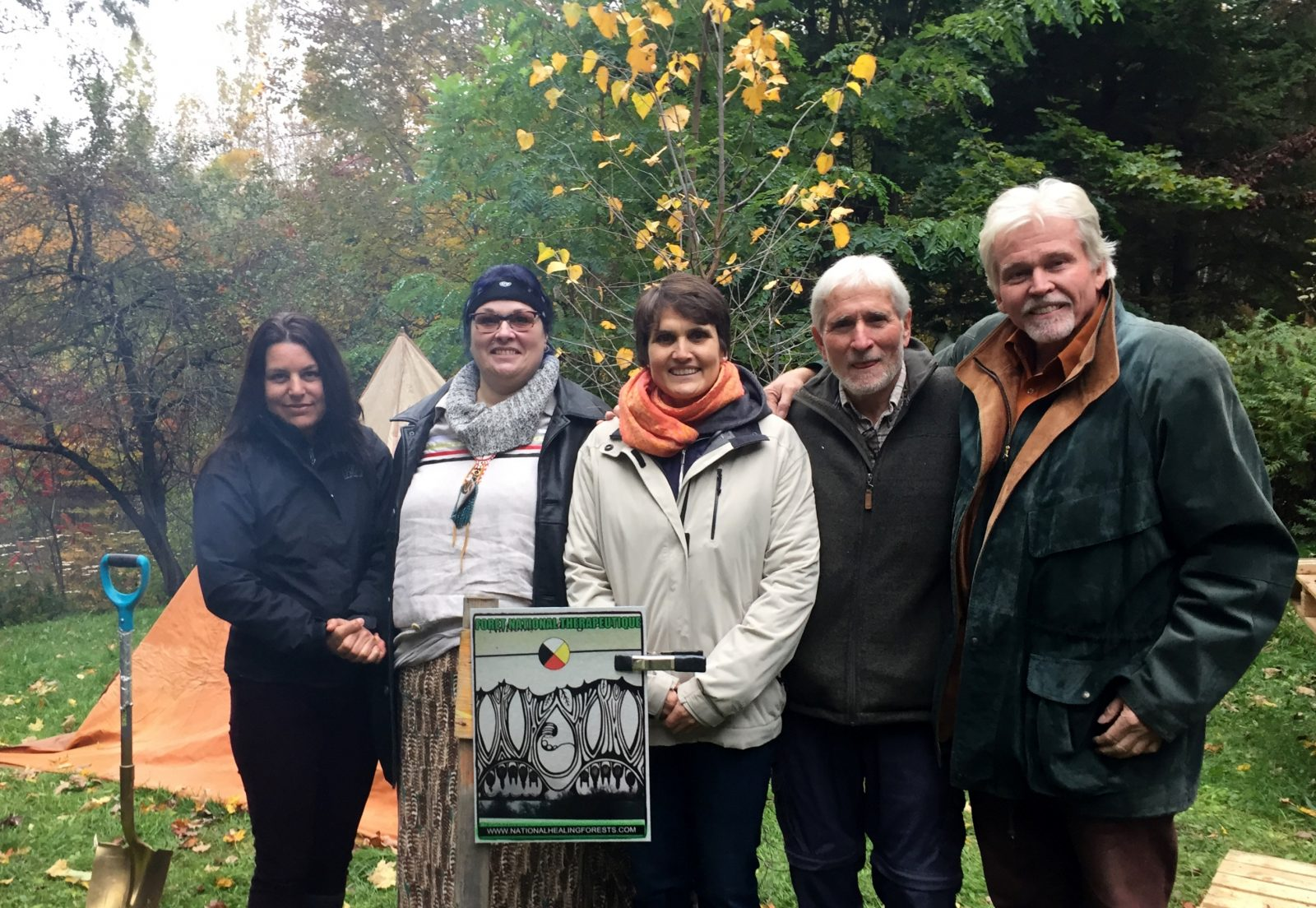 Fitch Bay home to a new National Healing Forest