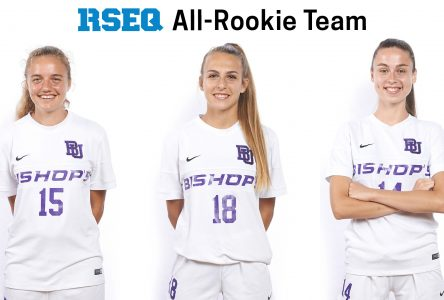 The future is bright, 3 Gaiters named to RSEQ all-Rookie team