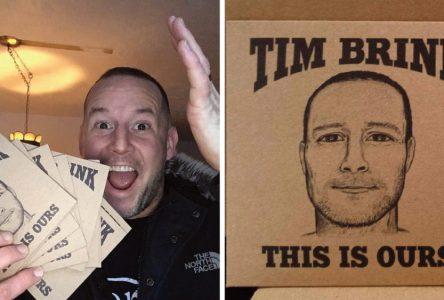 Tim Brink's new album hot off the presses