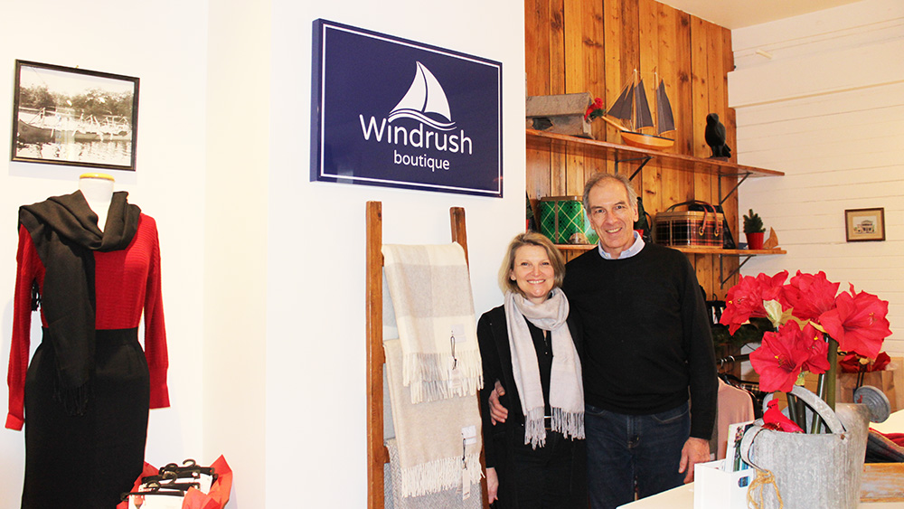 Windrush owner takes matters into her own hands