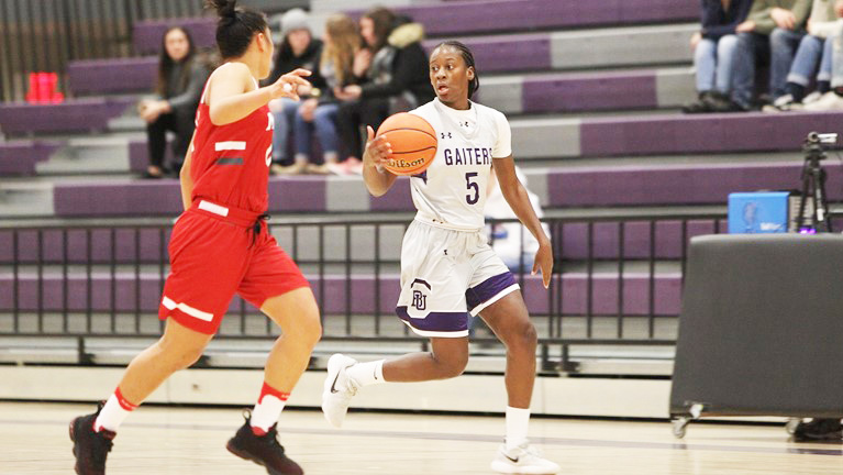 Tough weekend for Gaiters' basketball