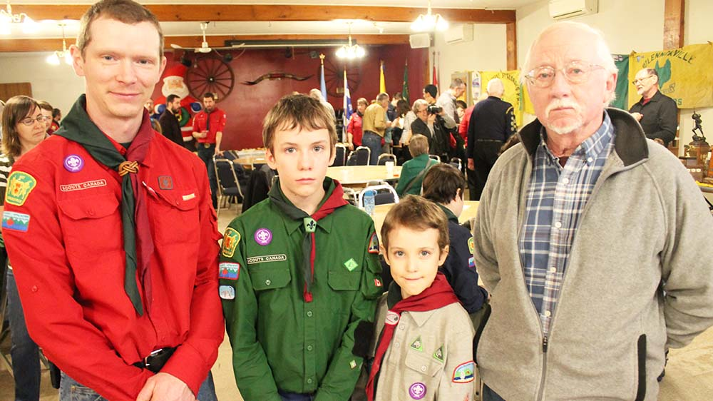Local scouts mark 100 years of doing their best