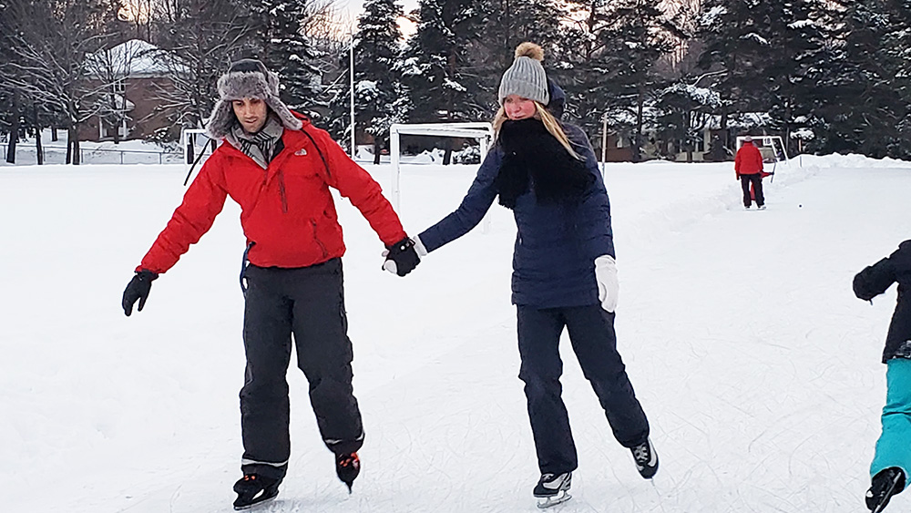 Baby, it's not too cold outside: Winter fun continues despite chilly weekend weather