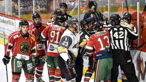 Wild help to change luck in final Plessisville game