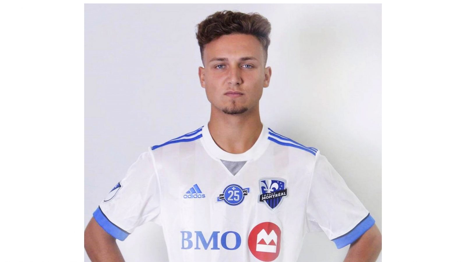 From the school yard to the big leagues:  Magog's Mikale Fontaine is training with  the Montreal Impact