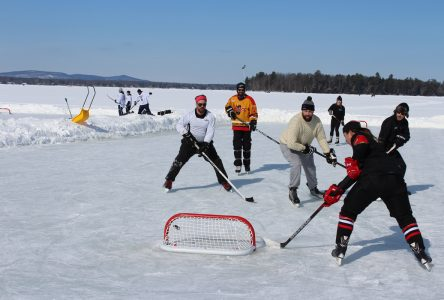 Knowlton Marina Pond Hockey Tournament raises money for Christian Vachon Foundation