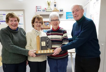 St-George's Anglican Church takes the trophy