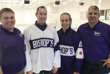 Hockey fundraiser scores big