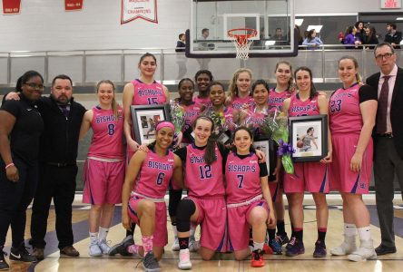 Bishop's women's basketball to shoot for the cure
