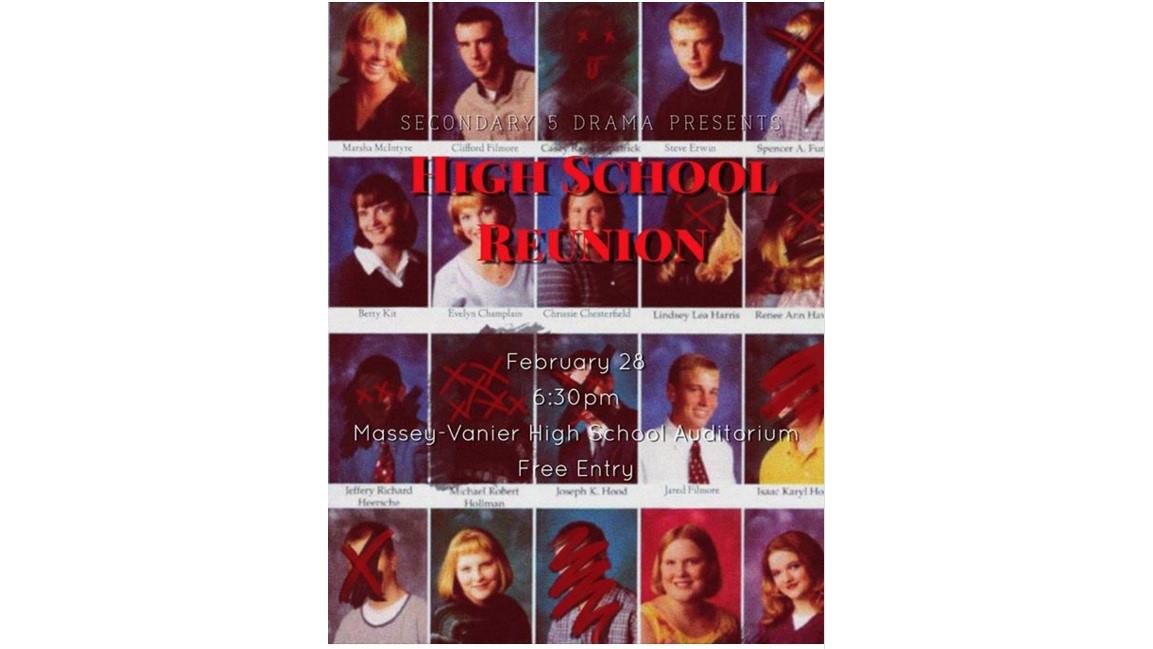 Massey-Vanier drama presents 'Class  Reunion' murder mystery