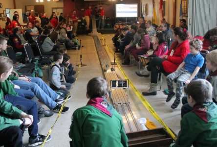 Lennoxville Scouts host a busy Saturday at the races