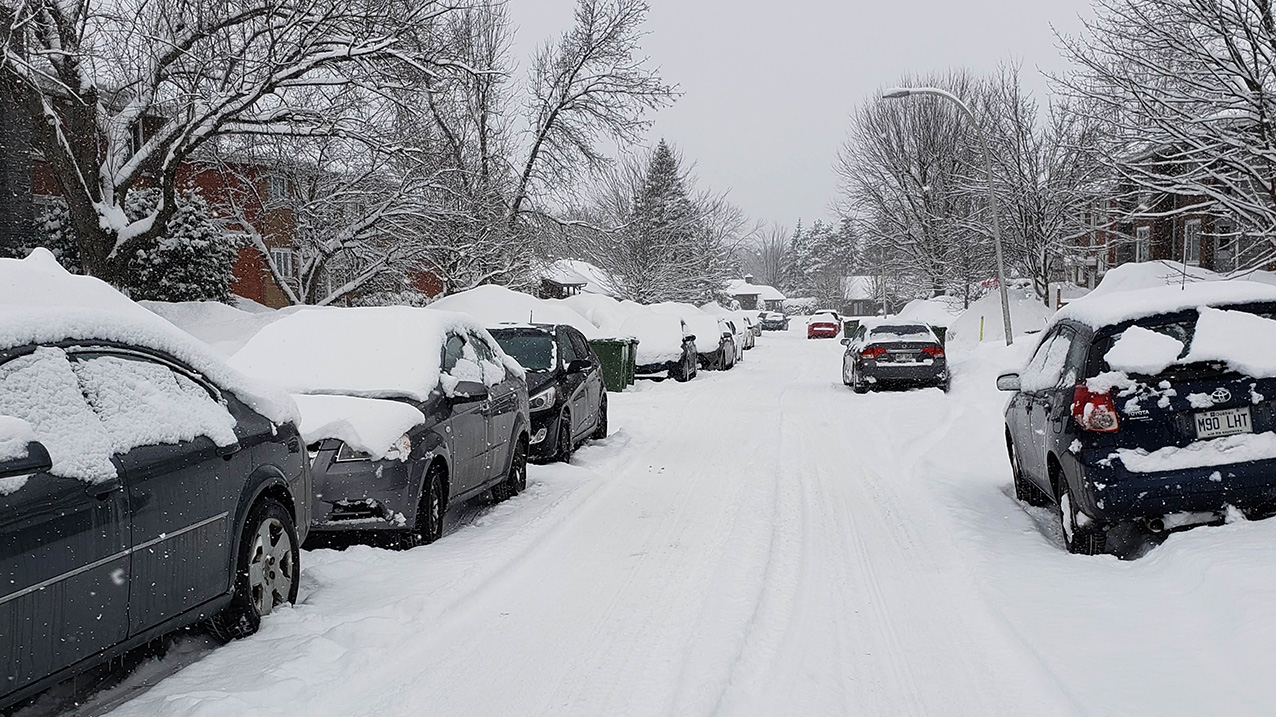 Snowstorm makes its mark on the Townships