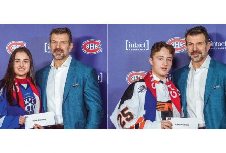 Montreal Canadiens and the Quebec Foundation for Athletic Excellence award bursaries to support student-athletes