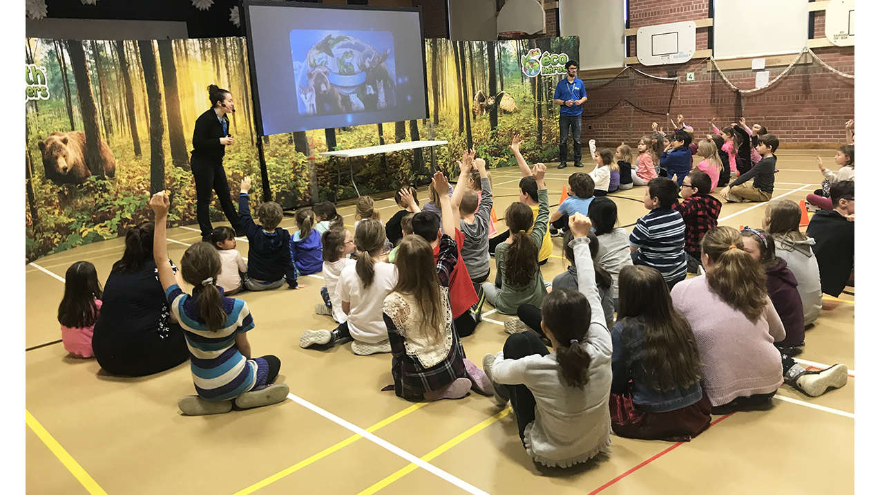 Local schools get a visit from the Earth Rangers