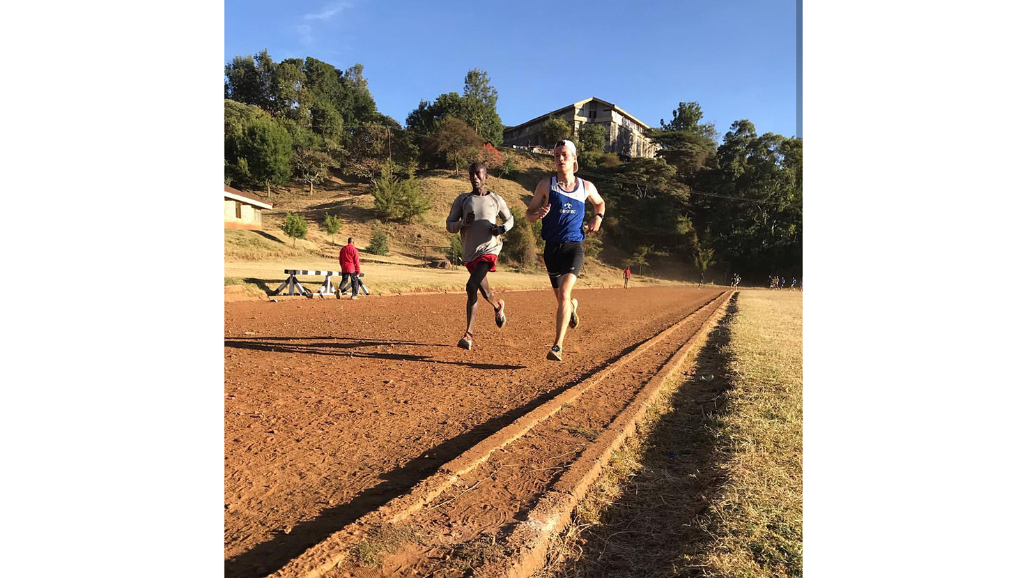 Running with champions: Perry Mackinnon's Kenyan experience