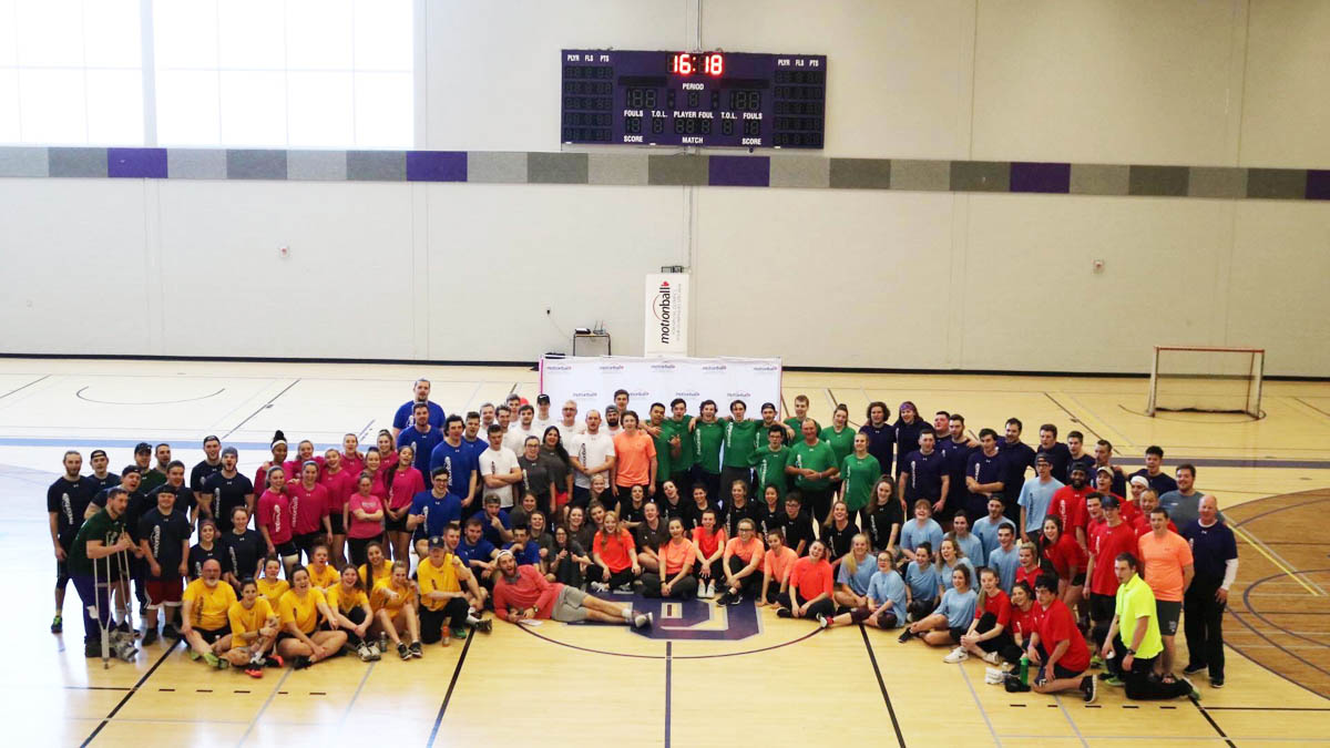 Motionball raises over $13,500 for Special Olympics Canada Foundation