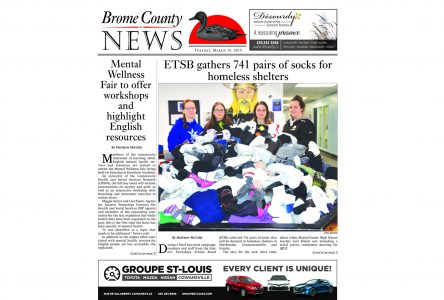 Brome County News – March 19, 2019 edition