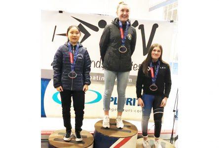 Amélia Blinn triumphs once again at provincial championships
