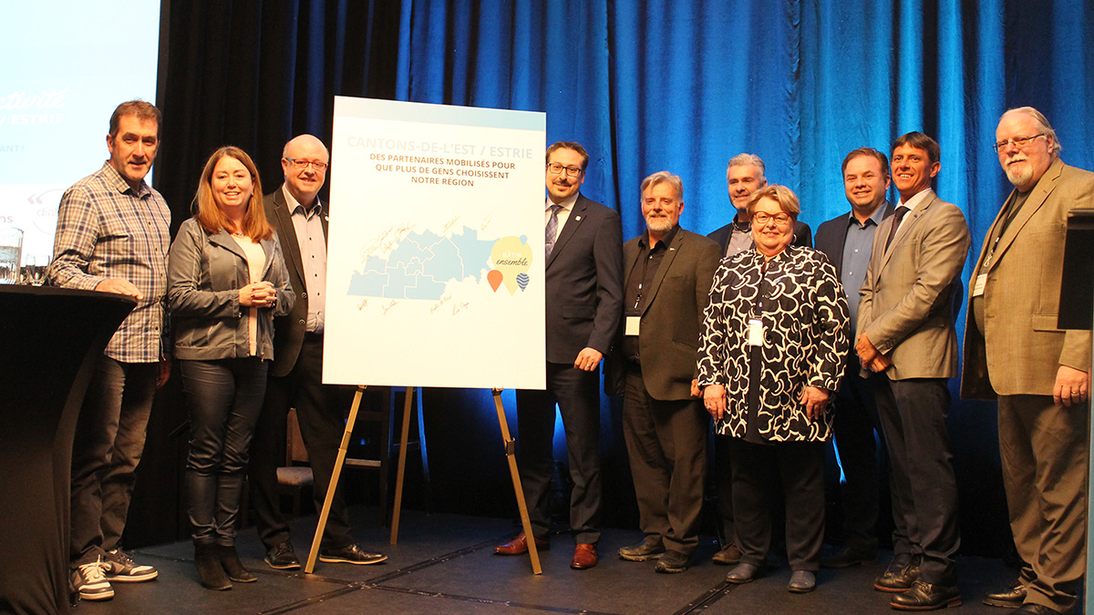 Sherbrooke conference focused on showing off what's great about the Townships