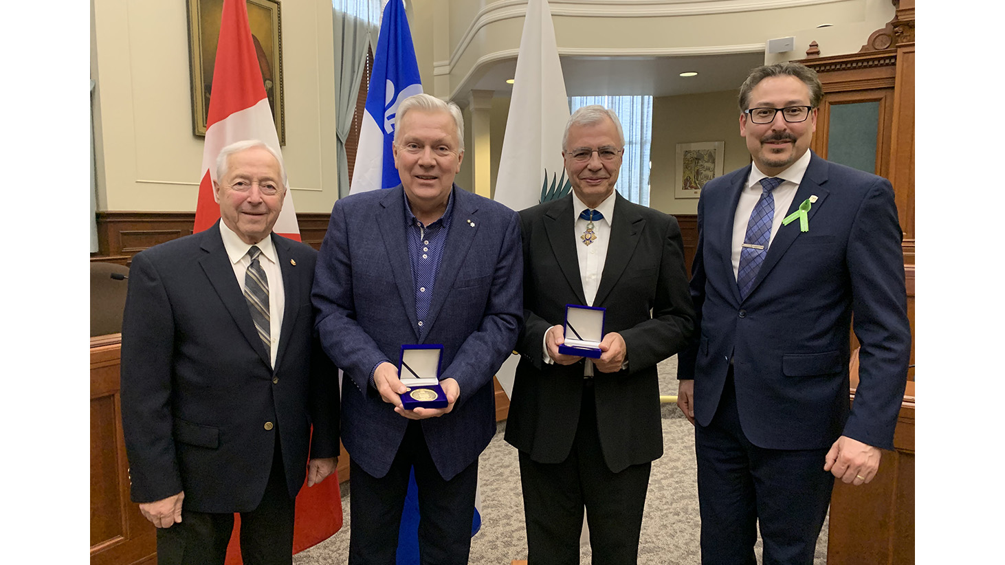 Two Sherbrooke residents honoured for exceptional merit