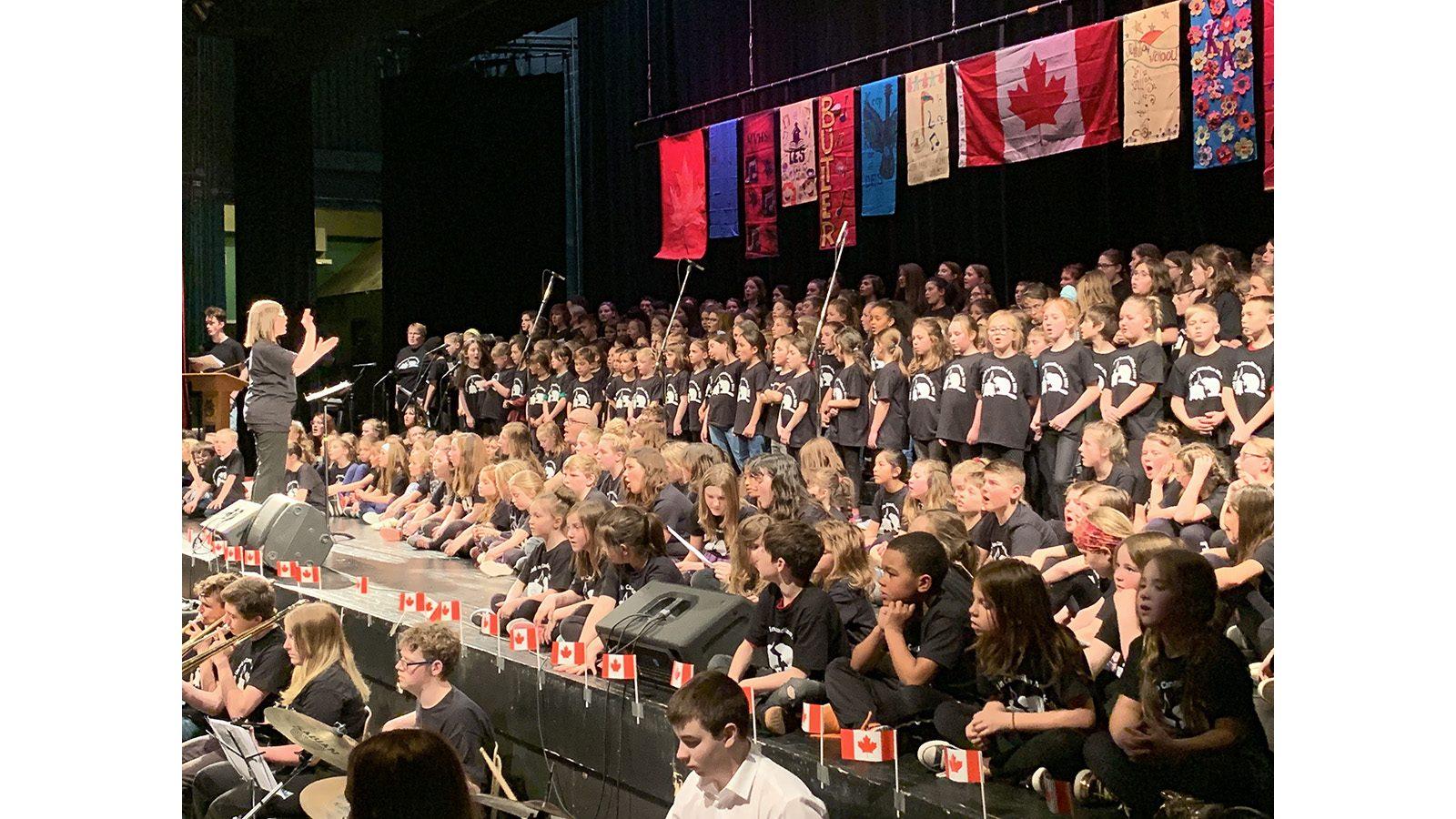 ETSB schools unite in song