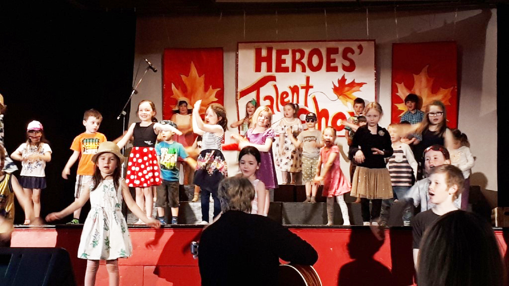 Last talent show organized by Laura Barr at Heroes' an entertaining show