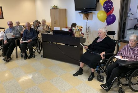 Argyll residents join together in song