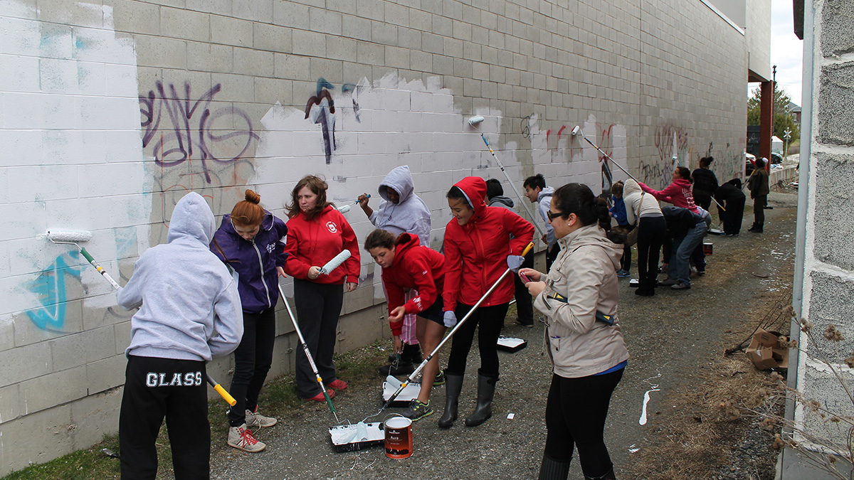 Sherbrooke community rallies to clean-up for Earth Day 2019