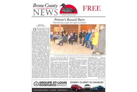 Brome County News – April 23, 2019 edition